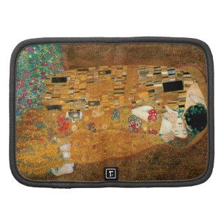 The Kiss by Gustav Klimt, Art Nouveau Folio Planners