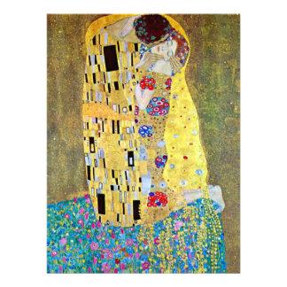 The Kiss by Gustav Klimt Art Nouveau Wedding Personalized Invites