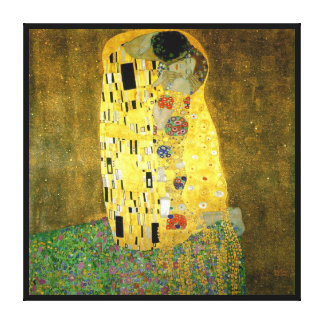 The Kiss by Gustav Klimt Gallery Wrapped Canvas