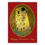 The Kiss by Gustav Klimt Cards