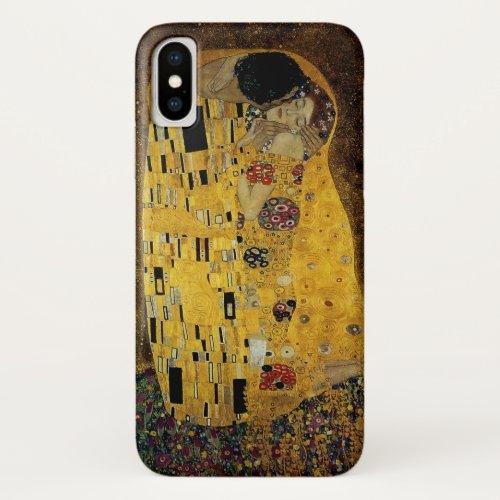 The Kiss by Gustav Klimt Phone Case
