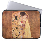 The Kiss by Gustav Klimt Computer Sleeve
