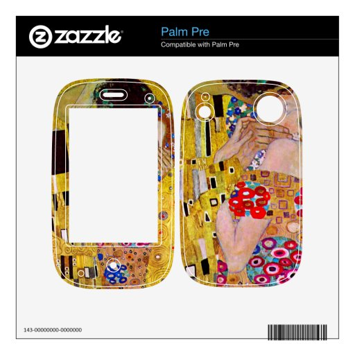 The Kiss by Gustav Klimt Decals For The Palm Pre