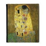 The Kiss by Gustav Klimt iPad Folio Cover