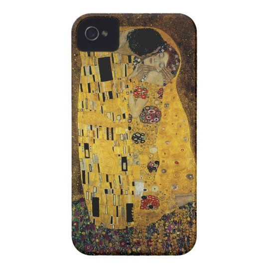 The Kiss by Gustav Klimt iPhone 4 Case-Mate Case