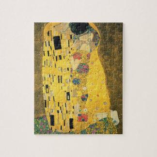 The Kiss by Gustav Klimt Jigsaw Puzzle