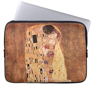 The Kiss by Gustav Klimt Laptop Computer Sleeves