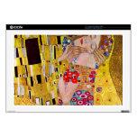 The Kiss by Gustav Klimt Laptop Skins