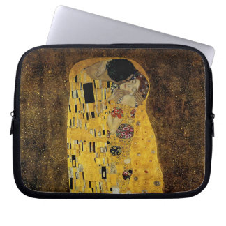 The Kiss by Gustav Klimt Computer Sleeve