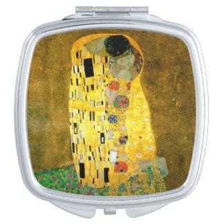 The Kiss by Gustav Klimt Mirror Mirror For Makeup