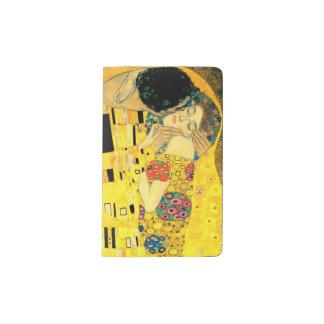 The Kiss by Gustav Klimt Pocket Moleskine Notebook