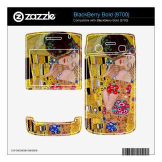 The Kiss by Gustav Klimt BlackBerry Skin