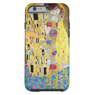 The Kiss by Gustav Klimt, Vintage Art Nouveau Tough iPhone 6 Case