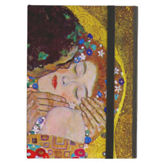 The Kiss by Gustav Klimt, Vintage Art Nouveau iPad Covers