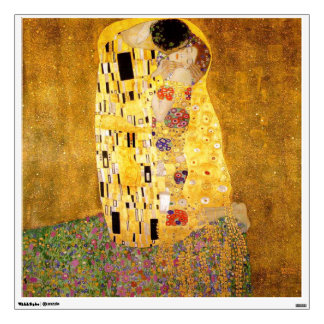 The Kiss by Gustav Klimt Wall Graphic