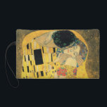 """The Kiss by Gustav Klimt Wristlet Purse<br><div class=""""desc"""">The Kiss by Gustav Klimt. Please visit my store for more interesting design and more color choice. =&gt;     zazzle.com/colorfulworld*</div>"""