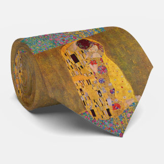 The Kiss by Klimt Neck Tie