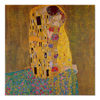 The Kiss by Klimt Poster