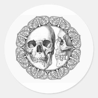 The Kiss Classic Round Sticker