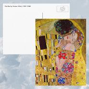 The Kiss (detail) by Gustav Klimt Post Cards