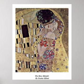The Kiss (Detail) By Gustav Klimt Poster