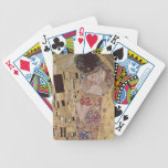 The Kiss Detail - Gustav Klimt Bicycle Poker Cards