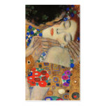 The Kiss (Detail) Gustav Klimt Double-Sided Standard Business Cards (Pack Of 100)