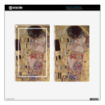 The Kiss Detail - Gustav Klimt Kindle Fire Decals