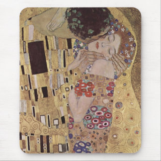The Kiss Detail - Gustav Klimt Mouse Pad