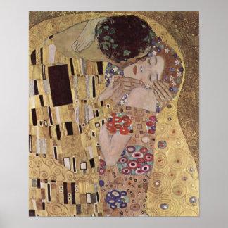 The Kiss Detail - Gustav Klimt Poster