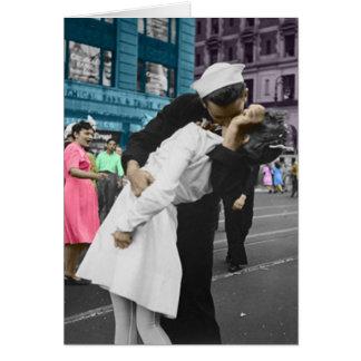 The Kiss Greeting Card