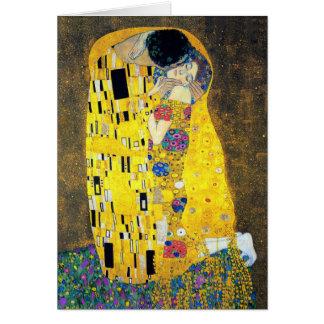 The Kiss, Gustav Klimt Card