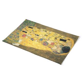 The Kiss - Gustav Klimt Cloth Placemat
