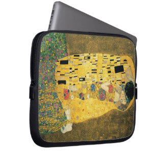 The Kiss - Gustav Klimt Computer Sleeves