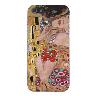 The Kiss, Gustav Klimt Cover For iPhone SE/5/5s