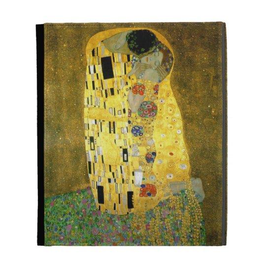 The Kiss ~ Gustav Klimt iPad Folio Cover