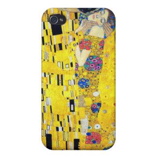 The Kiss, Gustav Klimt iPhone 4 Case
