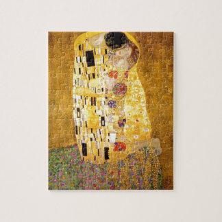 The Kiss Gustav Klimt Jigsaw Puzzle