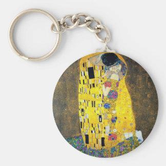 The Kiss, Gustav Klimt Keychain