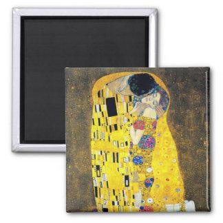 The Kiss, Gustav Klimt Magnet
