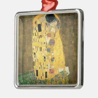 The Kiss - Gustav Klimt Metal Ornament