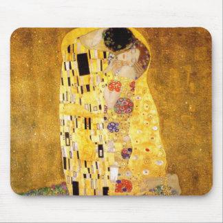 The Kiss Gustav Klimt Mouse Pad