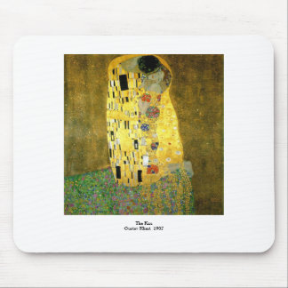 The Kiss ~ Gustav Klimt Mouse Pad
