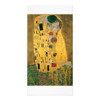 The Kiss - Gustav Klimt Personalized Photo Card