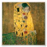 The Kiss - Gustav Klimt Photographic Print