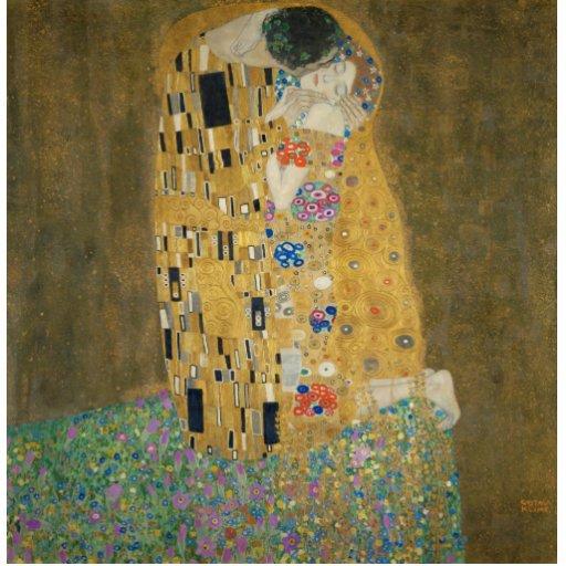 The Kiss - Gustav Klimt Photo Cutouts