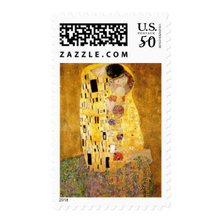 The Kiss - Gustav Klimt Postage