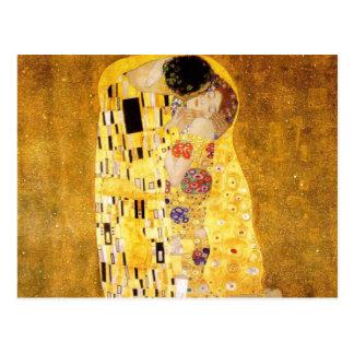 The Kiss Gustav Klimt Postcard