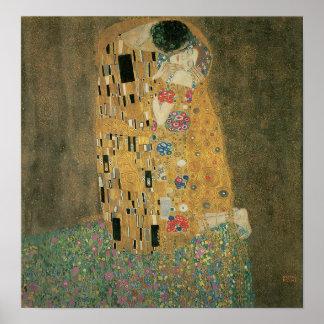 The Kiss, Gustav Klimt Poster