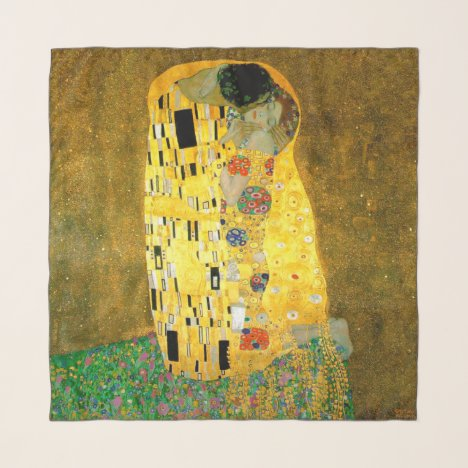 The Kiss ~ Gustav Klimt Scarf